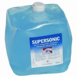 Gel de ultrasonidos Supersonics 5L