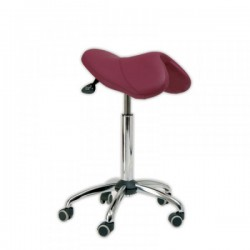 Taburete PONY silla de montar base aluminio
