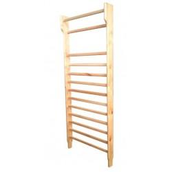 Espaldera de un cuerpo en madera de haya barnizada