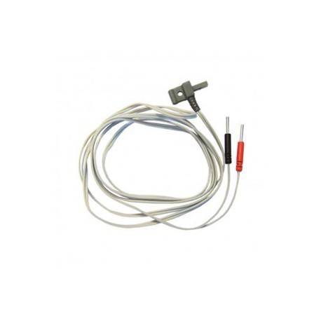 Cables para electroestimuladores CEFAR (Set de 2 cables)