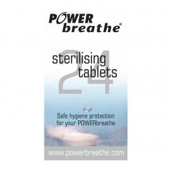 Pack de 24 pastillas esterilizadoras para POWERBreathe pack 24 uds