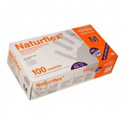 Guantes Vinilo sin polvo Naturflex