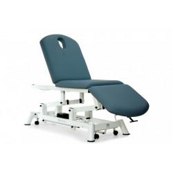Camilla eléctrica de reconocimiento de 3 secciones tipo sillón con ruedas escamoteables.