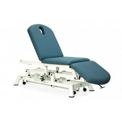 Camilla de reconocimiento hidráulica tipo sillón de 3 secciones y ruedas