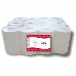 Papel secamanos minimecha pasta liso (12 rollos)