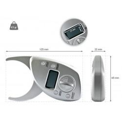 Plicómetro medidor grasa subcutanea electrónico