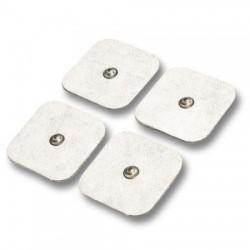 Electrodos Snap 50 x 50 mm (4 unidades)
