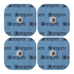 Electrodos Snap Compex cuarados (4)