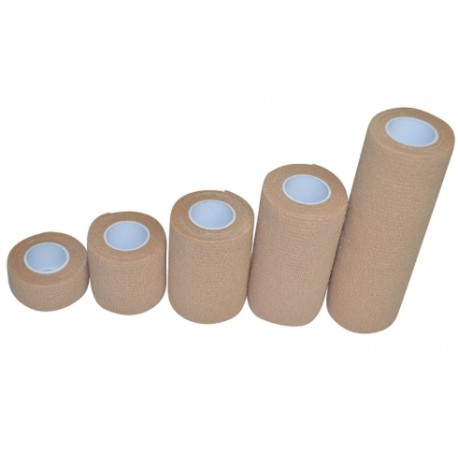 Venda cohesiva NT 2.5 cm x 4,5 m (beige)