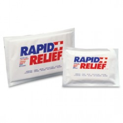 Rapid Relief Reutilizables blanco
