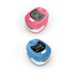 Pulsioxímetro pediátrico con onda plestimográfica LCD