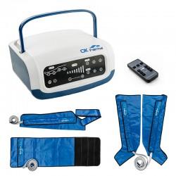 Presoterapia Farma Press Digital de cuatro cámaras con funda de piernas