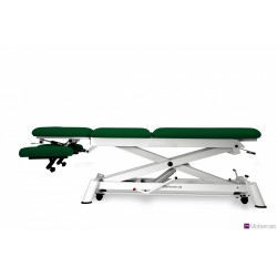 Camilla hidráulica para osteopatía de 5 secciones