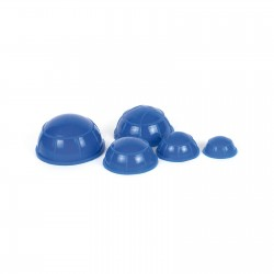 Kit de Ventosas de silicona azules (5 uds.)