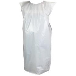 Casaca Polietileno desechable sin mangas