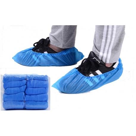 Cubrecalzado Desechable CPE Azul (100 unds.)