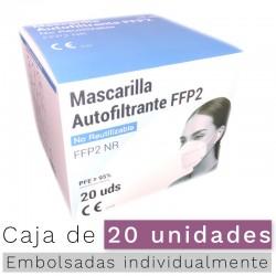 Mascarillas FFP2 NR (5 unds.)