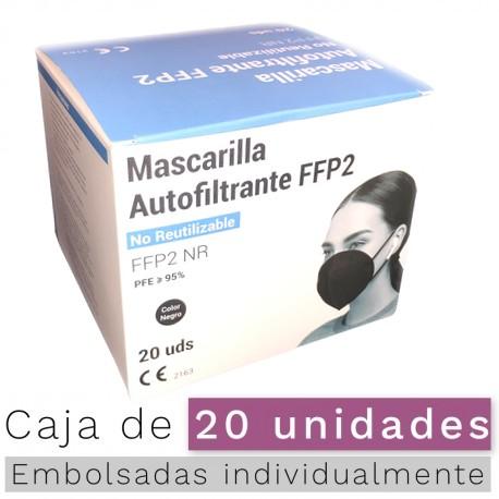 Mascarilla FFP2 - NR Color NEGRO