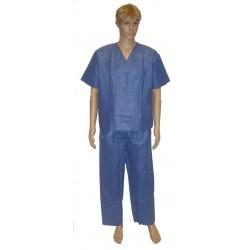 Pijama quirúrgico - Pack de 12 uds. Talla S
