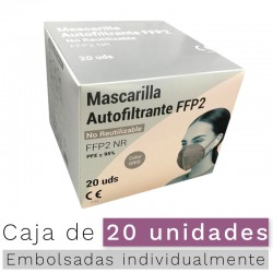 Mascarillas FFP2 NR- Color Gris