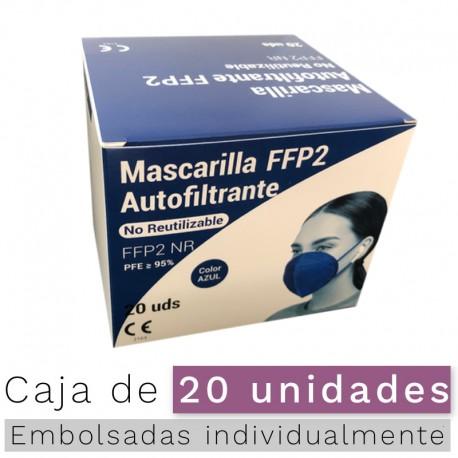 Mascarillas FFP2 NR - Color Azul marino