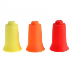 Ventosas de silicona de colores (kit de 3 uds)